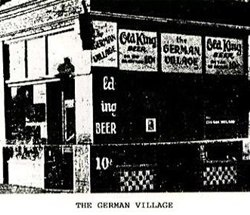 the German Village pub