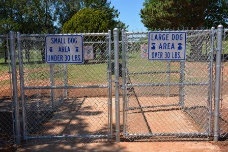 Meadowlake Dog Park Entrance Sign