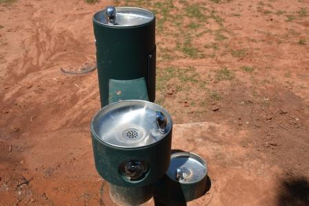 Meadowlake Dog Park Water Fountain