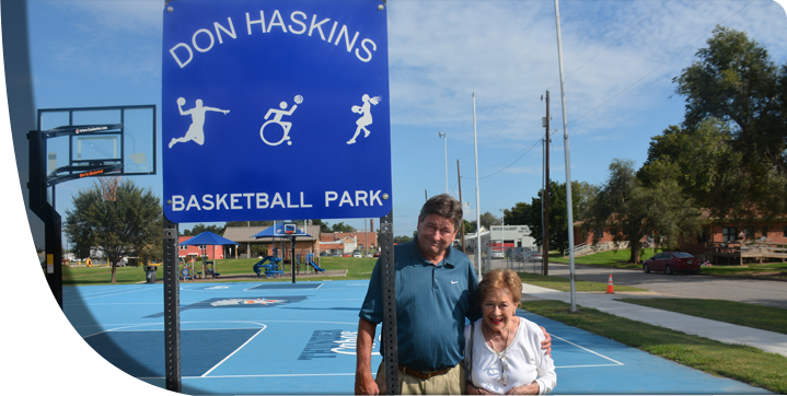 33 Don Haskins Sign