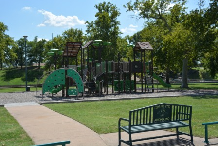 Government Springs N large playground w bench