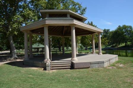 Government Springs N owens pavillion  side