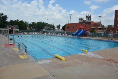 Champlin Pool from left corner
