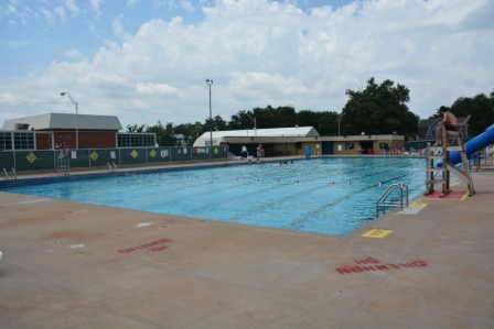 Champlin Pool from right corner