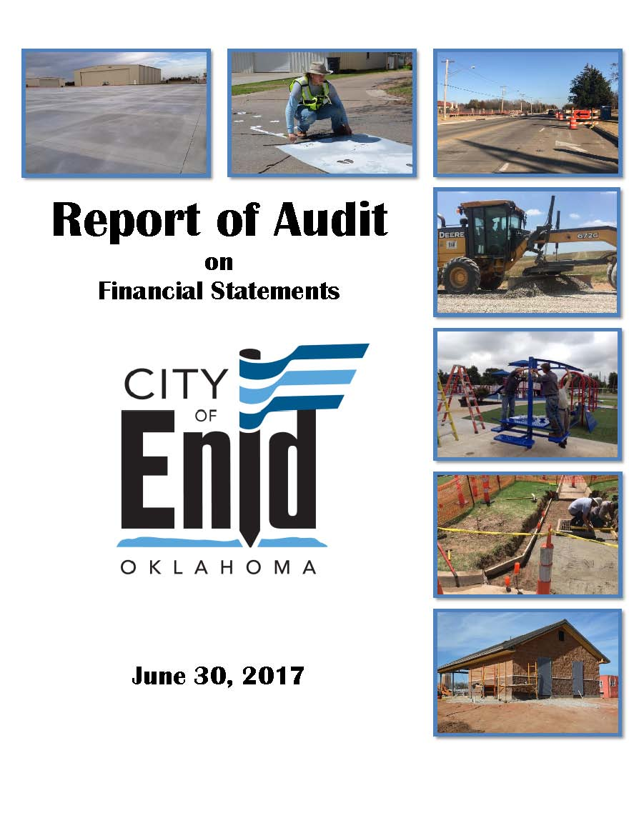 2016-2017 Audit Report Cover