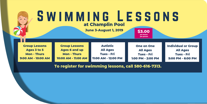 2019 Swimming Lessons