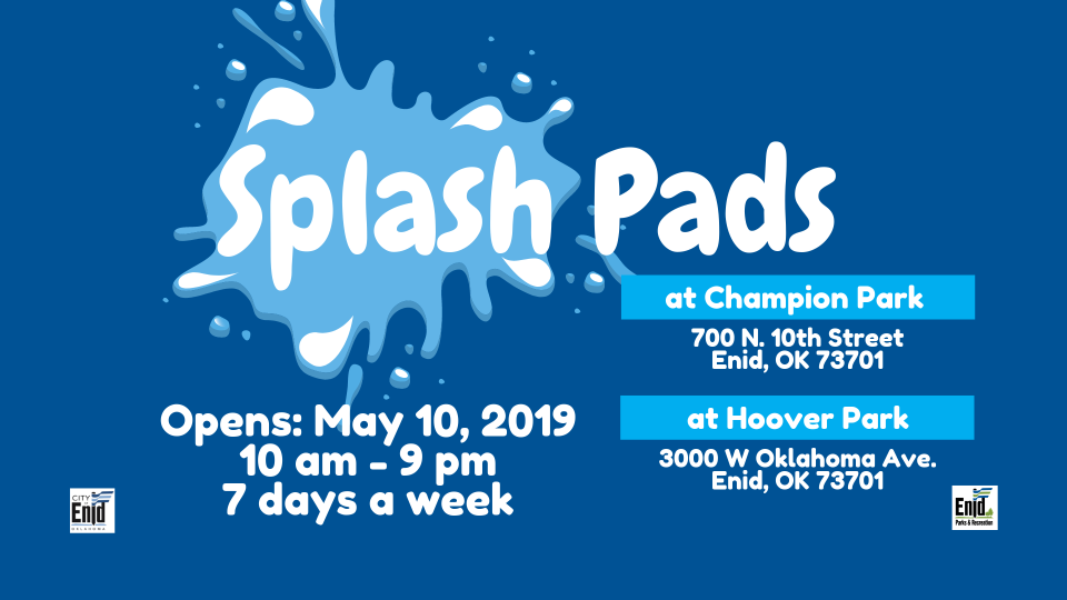 2019 Splash Pads TV