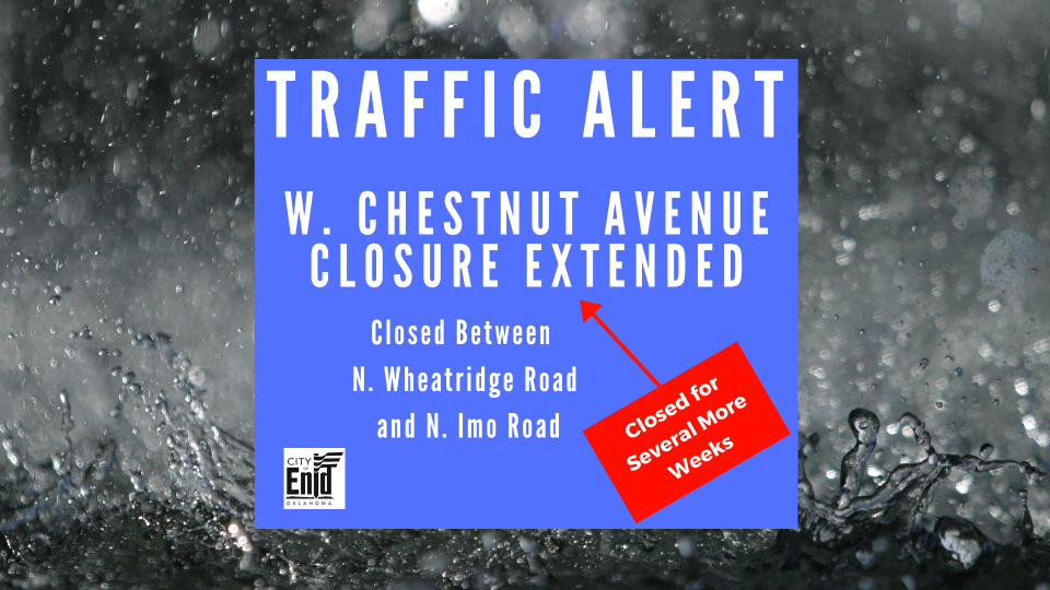 Graphic describing the Chestnut Ave Closure