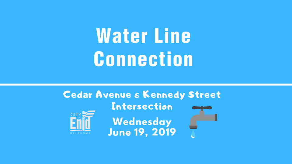 2019-06-19 Water Line Connection Information