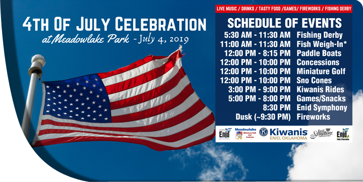 July 4th Celebration 2019 Schedule of Events