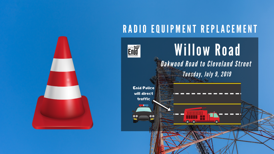 Graphic describing the Radio Equipment Replacement