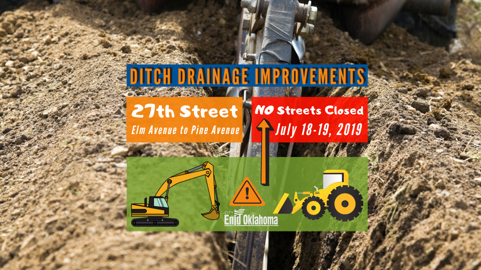2019-07-17 Ditch Drainage Improvements