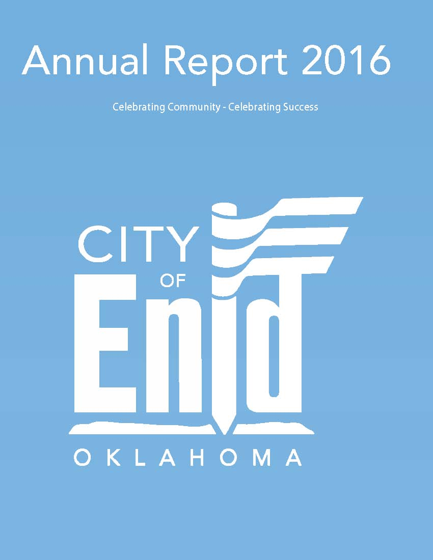 2016 Annual Report Cover