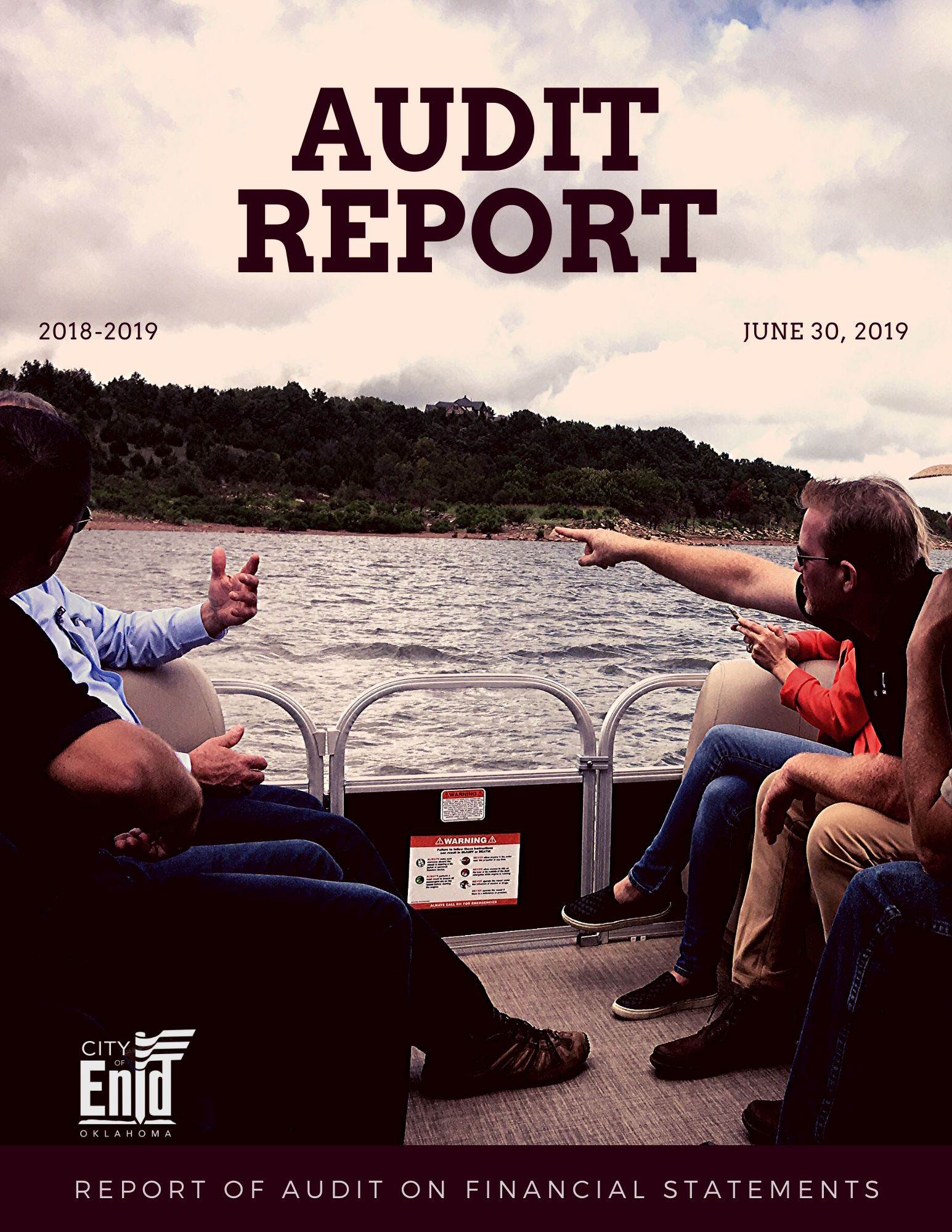 2018-2019 Audit Report Cover