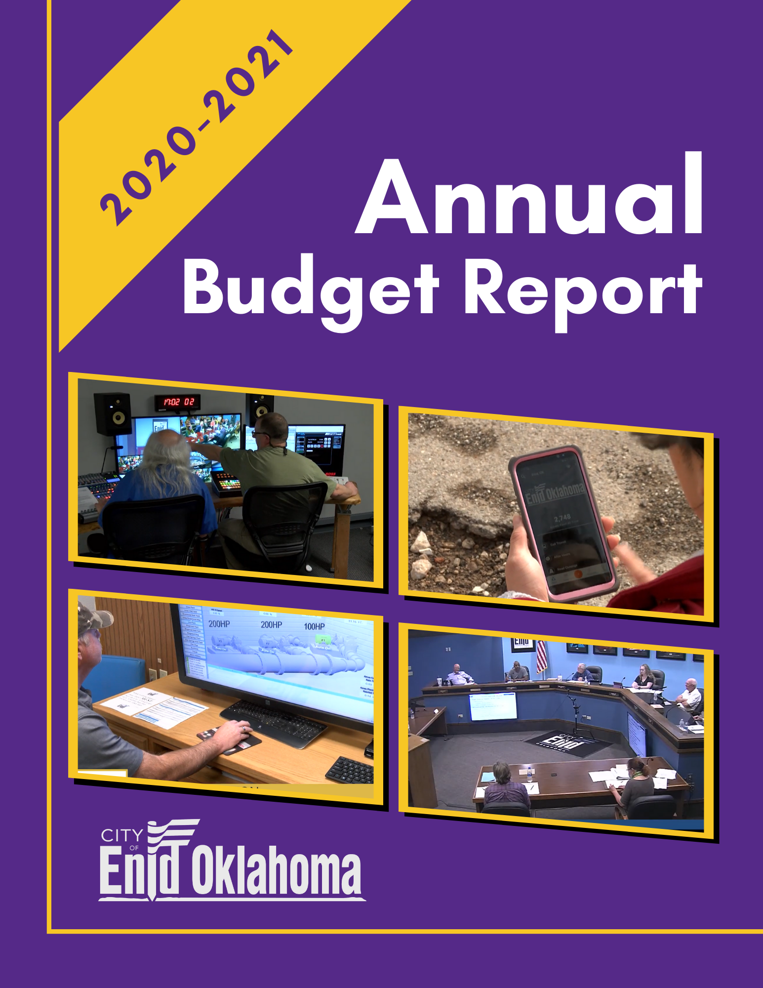 2020-2021 Budget Cover